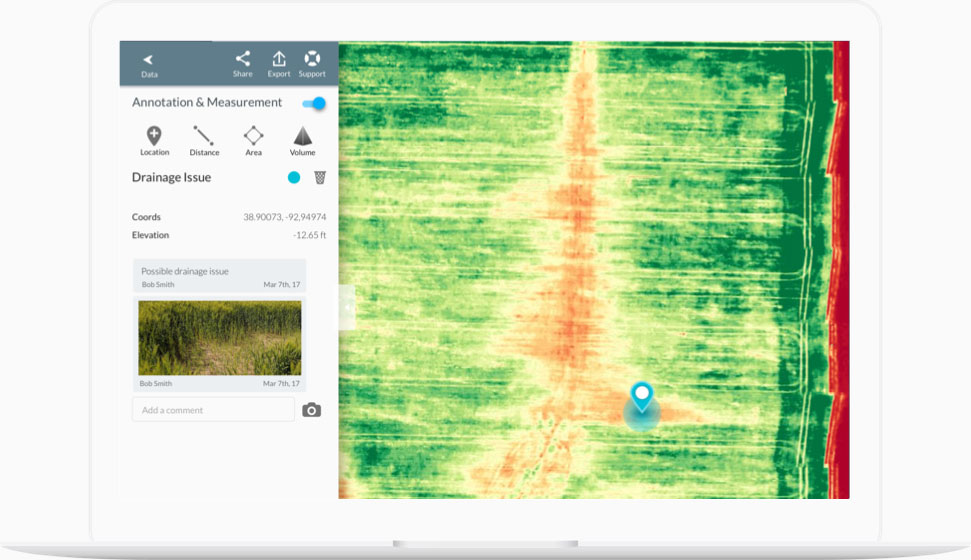crop scout ground-truthing software