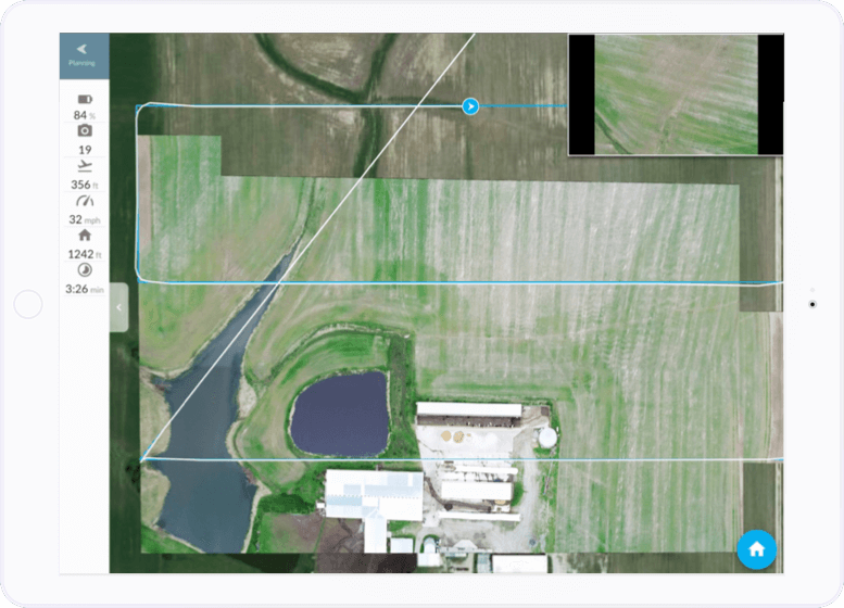 iPad instant drone mapping annotation